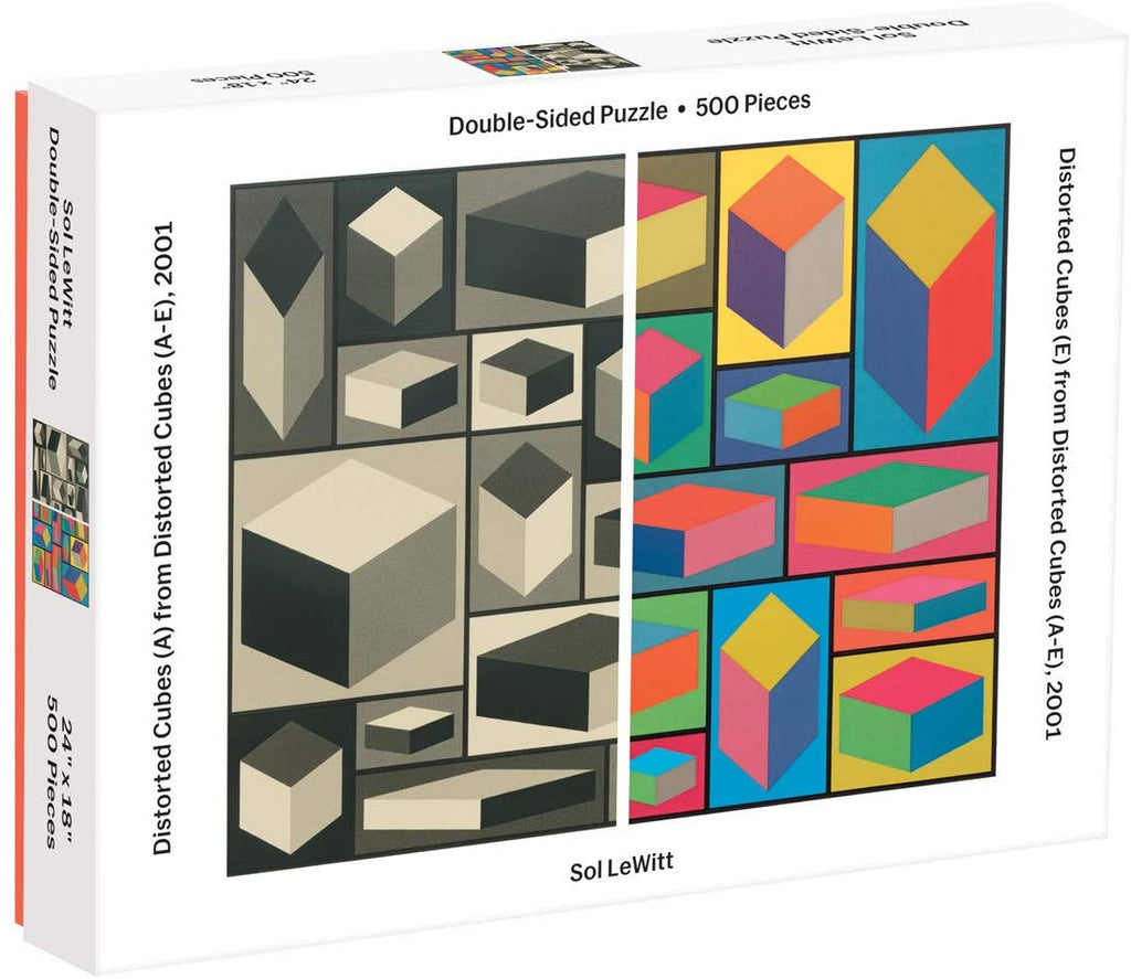 MoMA Sol Lewitt Double Sided Puzzle
