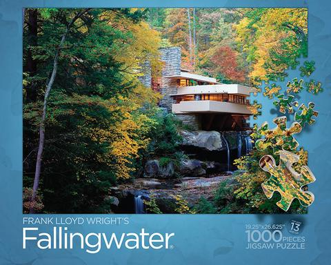 1000 Piece Fallingwater Puzzle