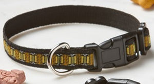 "Skylight Pet Collar, Large, 1""x18-28"""