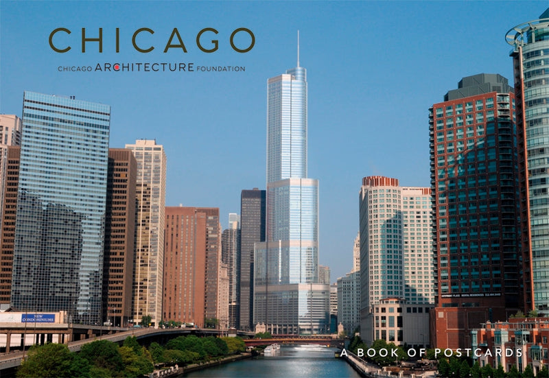 Postcard Book-Chicago