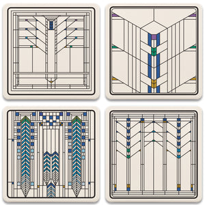 Ennis Assorted Coasters - Set/4