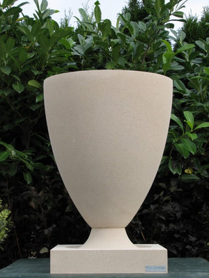 "American Systems Built Houses Vase 18""."