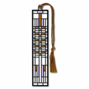 Frank Lloyd Wright Dana House Metal Bookmark