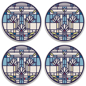 Waterlilies Coasters - Set/4