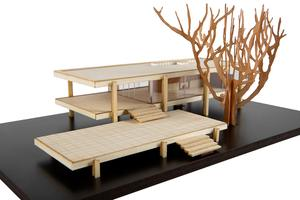 Farnsworth House  -  Model Landmarks Building Set.