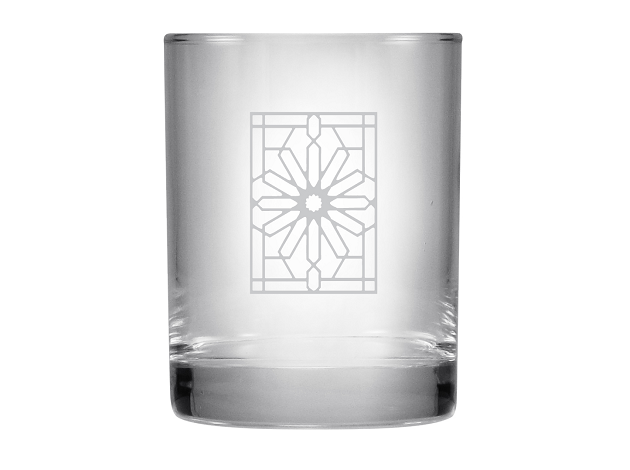 Double On The Rocks Glass Tumbler - The Rookery, Set/2