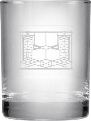 Double On The Rocks Glass Tumbler - Robie House, Set/2
