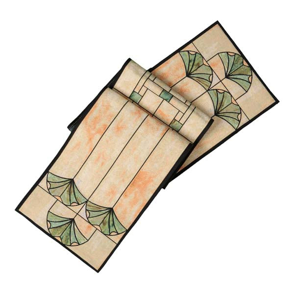 "Table Runner- Ginkgo 74"" x 12.5"""