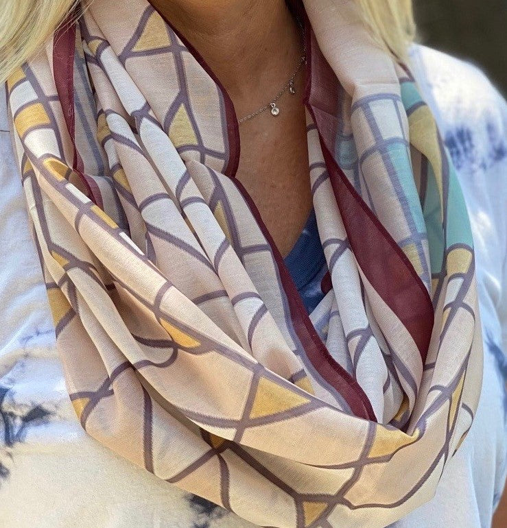 Tree of Life Infinity Scarf