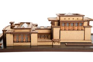 Unity Temple -  Little Building Co. Model Set.
