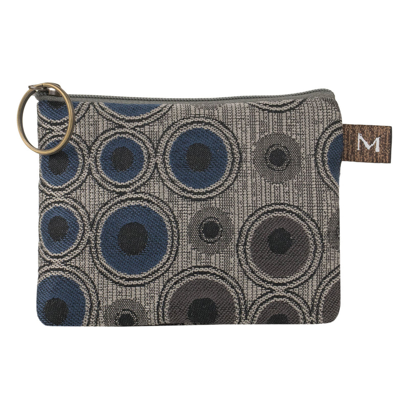 Coin Wallet - Herman Circles Blue / Gray
