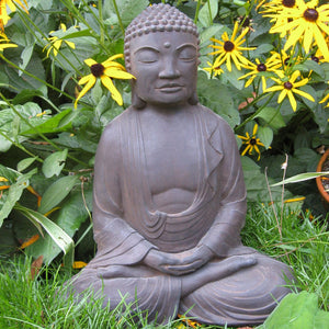 Meditating Buddha Sculpture.