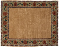 Oak Park Border -  Wool Area Rugs.