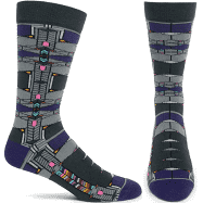 Robie House  Socks - Gray, Medium/Large