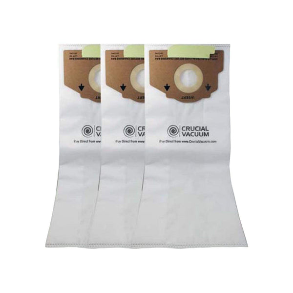 3pk Replacement Style RR Cloth Bags, Fits Eureka, Compatible with Part 61115
