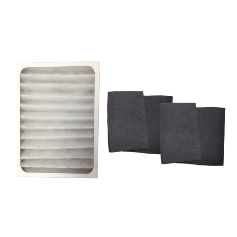 2pk Replacement 30901 Carbon Filters & 1 30928 Air Filter, Fits Hunter, Compatible with Part 30928 & 30901