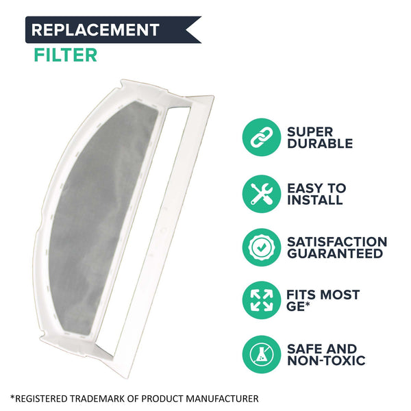 Replacement Dryer Lint Filter, Fits GE, Compatible with Part WE18M28