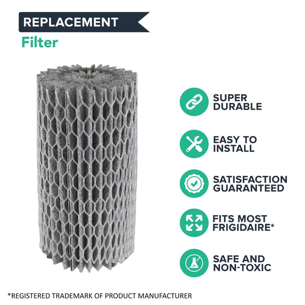 Replacement Refrigerator Air Filter, Fits Frigidaire Pure Air, Compatible with Part 9917, 469917, EAF1CB, 241504902, 241575001, 241575002, 46-9917 & AFCB