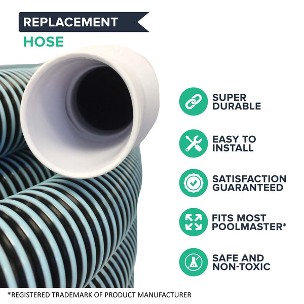 Replacement 40' x 1-1/2'' 33440 In-Ground Vacuum Pool Hose