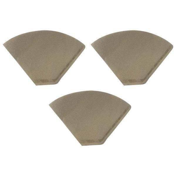 Unbleached Natural Brown Paper #4 Coffee Filters Fit Clever Large Coffee Dripper