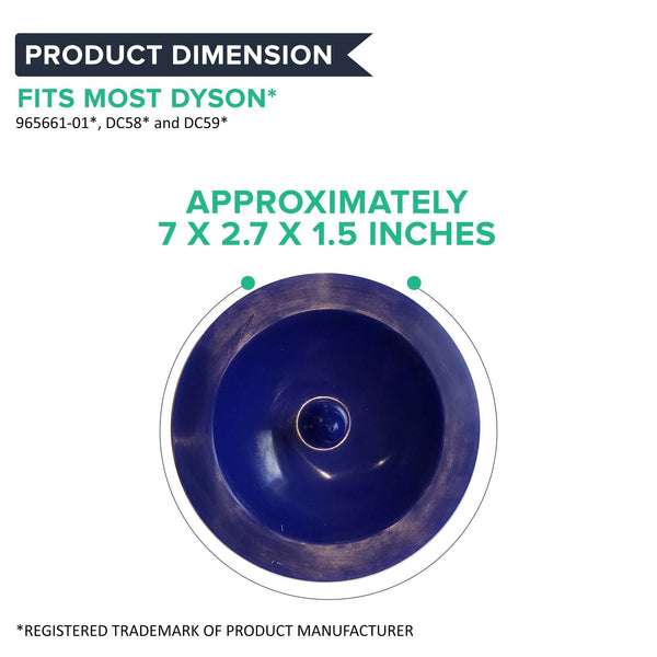 Replacement Washable & Reusable Pre Filter, Fits Dyson DC58 & DC59, Compatible with Part 965661-01