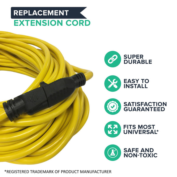 12/3 300V SJT Super Heavy Duty, Durable, Flexible, Indoor & Outdoor 100 Ft Extension Cord