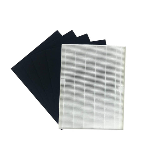 Crucial Air Replacements Compatible with Electrolux EL024, EL017 & EL500 HEPA Style Filter & 4 Carbon Filters