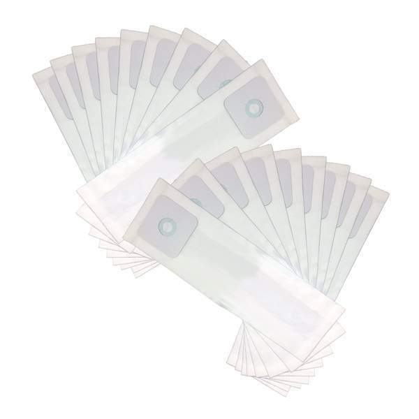 Crucial Vacuum Replacement Vac Bags Part # 391 - Compatible With Nutone Vacs, Models PP500, PP600, PP650, CV350, CV352, CV353 - Vacuums Bag Measures 13.2