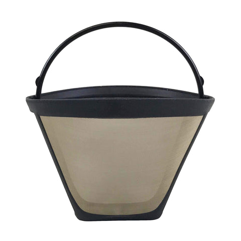 Replacement #4 Gold Tone Coffee Filter, Fits Zojirushi EC-BD15BA, Washable & Reusable