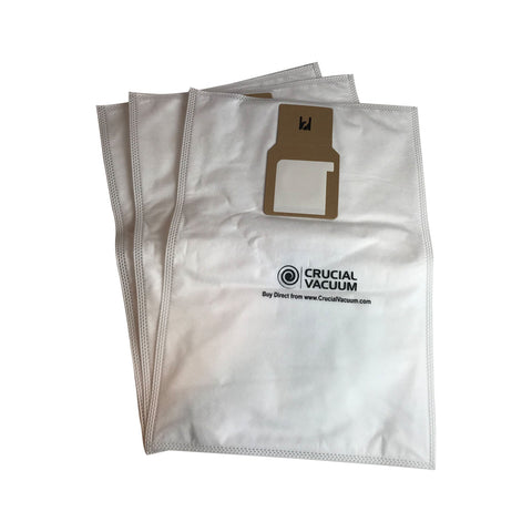 Crucial Vacuum Replacement Vac Bags Part # 20-5068, 20-50681, 20-50688, 20-50690, U-2 - Compatible With Kenmore Type O and Type U Vacuum Cloth Bags For Upright Vacuums - Use For Home