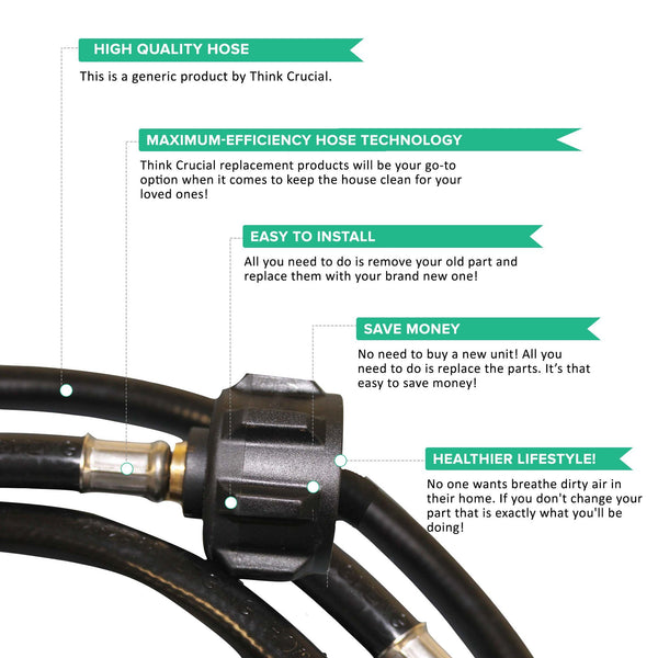 Replacement 6FT Adaptor Hose, Fits Weber, Compatible with Part 6501