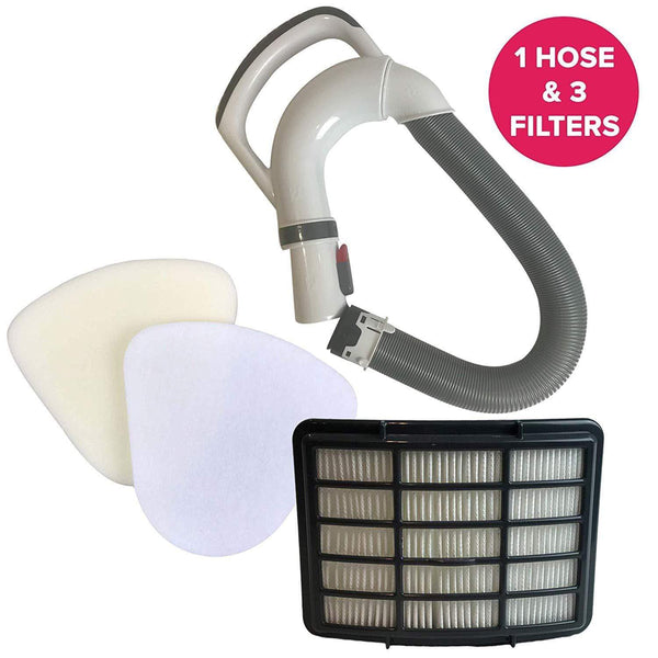 Shark 153FFJ Hose NV350 Foam Felt HEPA Filter Kit XFF350 XHF350