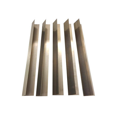 5pk Replacement Long Lasting Stainless Steel Flavorizer Bars, Fits Weber Grills, Compatible with Part 7536, 21.5 x 2.375 x 2.375