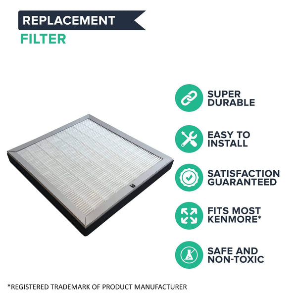 Replacement Air Purifier Air Filter, Fits Kenmore, Compatible with Part 83159