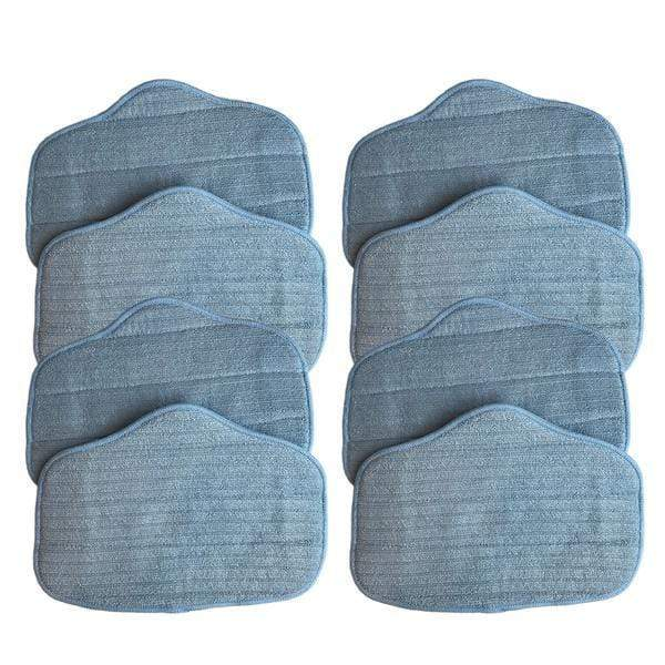 Crucial Vacuum Replacement Mop Pads Part # A275-020 - Compatible with SteamFast - Measures 12.7