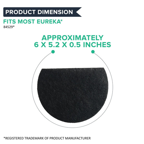 Replacement Pre-Motor Filter, Fits Eureka AirSpeed Upright Vacuums, Compatible with Part 84529