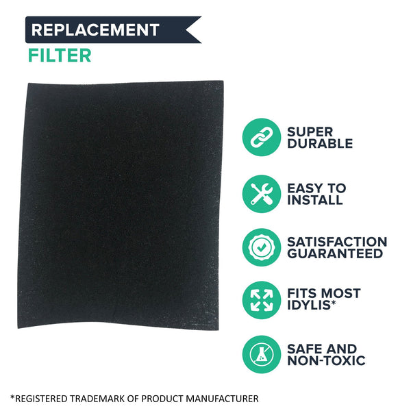 Replacement A Air Purifier Carbon Filter, Fits Idylis, Compatible with Part 302656