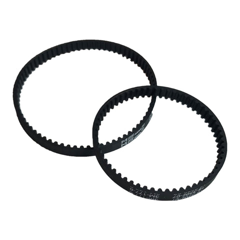 Think Crucial Canada Replacement Belt Parts - Vacuum Belts Compatible with Bissell ProHeat 2X Models 9200 9300 9400 Series - Pair with Part 203-6688 and 203-6804 - Bulk Pack Sizes