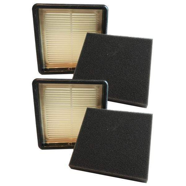 Replacement F51 HEPA Style & Foam Filter Kit, Fits Dirt Devil, Compatible with Part 304008001 & 304008002