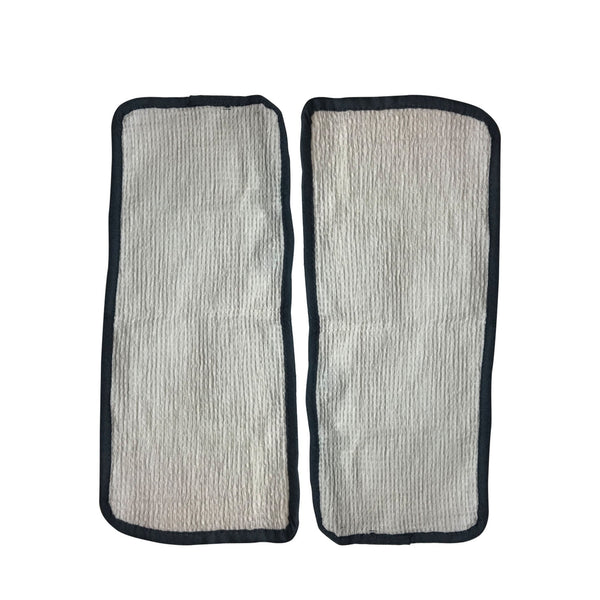 Crucial Vacuum Replacement Mop Pads Part # 60978, 60980 & 60980A - Fits Eureka Steam Pad Fit Models 310A, 311A, 313A Enviro Floor Steamer - Washable, Reusable Part and Model For Home
