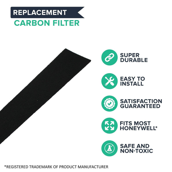 Replacement Honeywell Carbon Filters, Compatible with Part HRF-K2