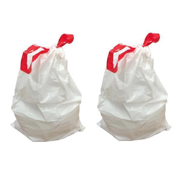 Replacement Garbage Bags, Fits Simplehuman Trash Bins, 30-35L / 8-9 Gallon, Style-H
