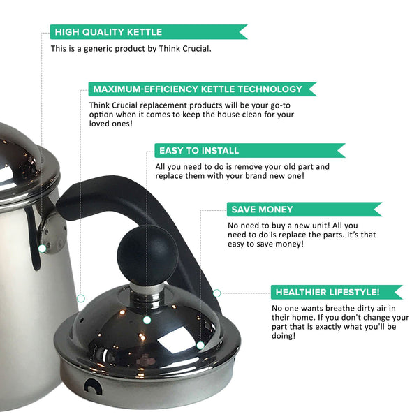 Pour Over Stainless Steel Gooseneck Kettle