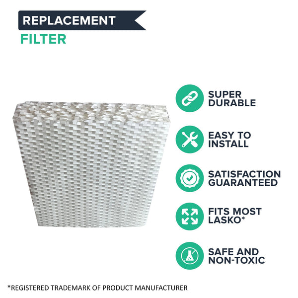 Replacement Humidifier Wick Filter, Fits Lasko L115 1128, 1129 & 9930, Compatible with Part THF-15