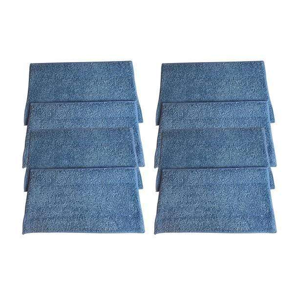 Crucial Vacuum Replacement Mop Pads - Compatible with Euroflex - Fits Euroflex EZ1 Monster Microfiber Steam Pads - Washable, Reusable Part, Models For Home, Office Universal Use - Easy Clean