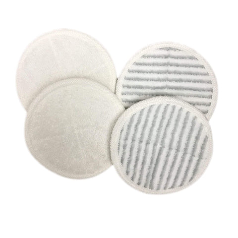 Think Crucial Canada Replacement Mop Pads - Compatible with Bissell Spinwave Mop Pad Heads Parts - Perfect For Models 13122, 13129, 13151, 13139 - Home, Office Use - Pair with Part #2124