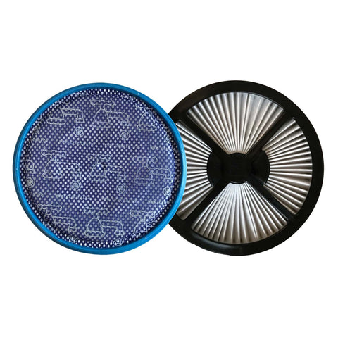 Replacement Pre & Post Filter Kit, Fits Samsung MotionSync Bagless Upright, Compatible with Part VCA-VM40P & VHU-70