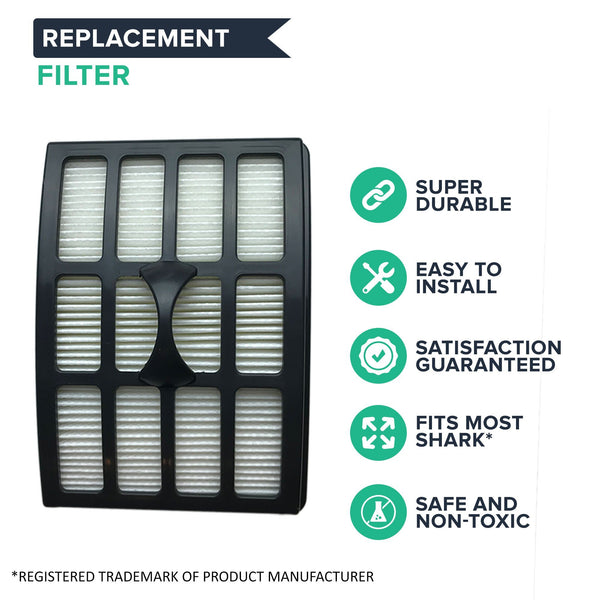 Replacement HEPA Style Filter, Fits Shark NP318, NP319 & NP320 Lift-Around Series, Compatible with Part XHF319