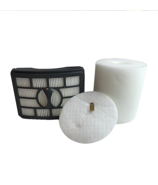 Replacement HEPA Style Filter, Foam & Felt Filter Kit, Fits Shark NV500 Rotator Pro Lift-Away, Compatible with Part XHF500 & XFF500