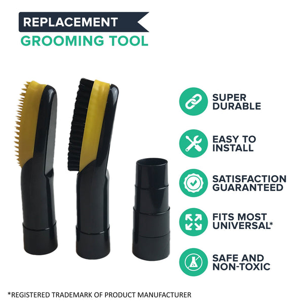 2 32MM Small Pet Grooming Brush Attachment Tools